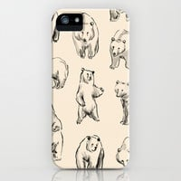 Bears iPhone & iPod Case by Leah Reena Goren