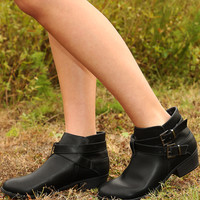 Hit The Road Boots: Black