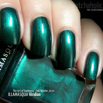 Illamasqua ? The Art of Darkness Nail Varnishes Fall/Winter 2010: Swatches and Review | The Swatchaholic . a blog about nail polish and makeup