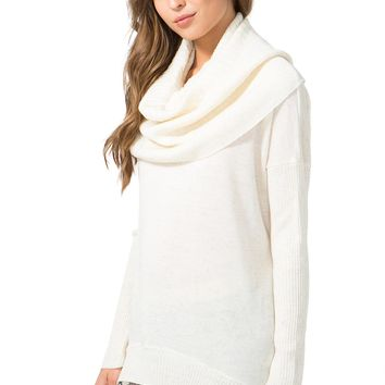 Avril Slouchy Cowl Sweater