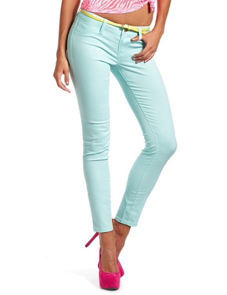 Refuge Belted Skin Tight Legging: Charlotte Russe
