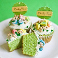 Lucky Charms Cupcakes St. Patrick&#x27;s Day ? My Own Ideas