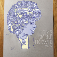 Sly Stone Limited Edition Screen Print | Rotter and Friends | Online Store & Merchandise