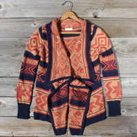 Fabled Canoe Sweater, Sweet Navajo Inspired Clothing