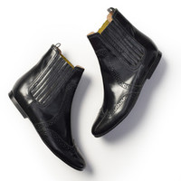 Brogued Chelsea Boot