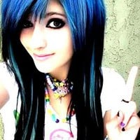 Girls With Amazing Hair Colors « Awesome « NuttyTimes
