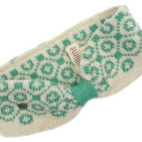 Alpaca Eres Headband, Green, Scarves