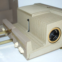 Vintage Sawyer's 500A Slide Viewer Projector in Case