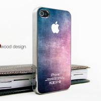 light silvery iphone 4 case iphone 4s case iphone 4 cover colorized texture image unique Iphone case design ($16.99)