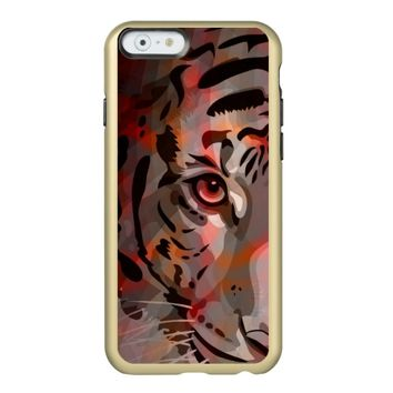 Tiger - iPhone 6 Gold Case