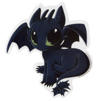 How To Train Your Dragon Toothless Sticker