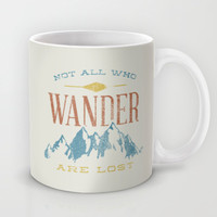 Not All who Wander are Lost Mug by Zeke Tucker
