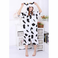 Black White Little Dairy Cow Kigurumi Costume Animal Pajamas [C20120730] - £29.31 : Zentai, Sexy Lingerie, Zentai Suit, Chemise