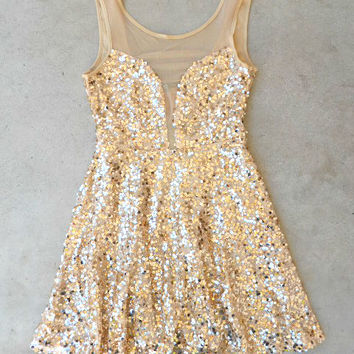 Charmed Sequind Party Dress [6366] - $52.00 : Vintage Inspired Clothing & Affordable Dresses, deloom | Modern. Vintage. Crafted.