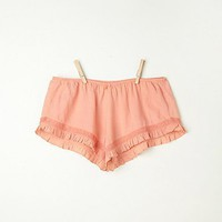 Free People Ruffle Sleep Shorts