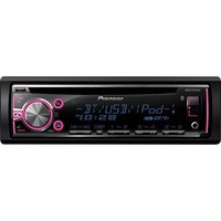 Pioneer - CD - Built-In Bluetooth - Apple® iPod®-Ready - In-Dash Receiver with Detachable Faceplate