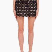 Alice + Olivia Bernadette Lace Skirt for women
