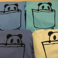Panda Pocket Shirts