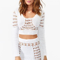 Dawn Crochet Crop Top