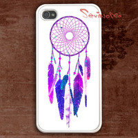 iPhone 4 Case, iPhone 4s Case, Dream Catcher iPhone 4 hard Case, Pattern Print white iphone hard case