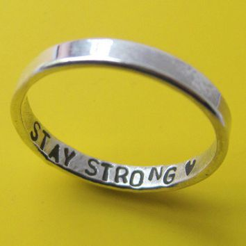Inner Message Custom Ring by sudlow on Etsy