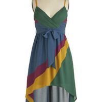 Swept Up in Color Dress | Mod Retro Vintage Dresses | ModCloth.com