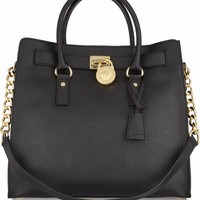 MICHAEL Michael Kors | Hamilton Large textured leather tote | NET-A-PORTER.COM