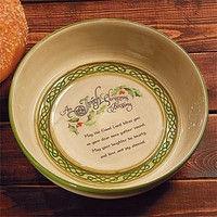 """Irish Christmas Blessing"" Soda Bread Baker - Bread Pans & Tubes"