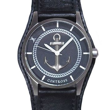 """Anchor Strong"" Watch by Controse (Black)"