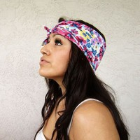 Love What's Missing | Muted Floral Hair Scarf | Online Store Powered by Storenvy