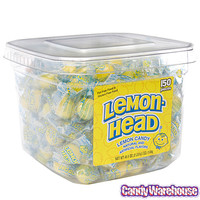 Lemonhead Candy: 150-Piece Tub | CandyWarehouse.com Online Candy Store