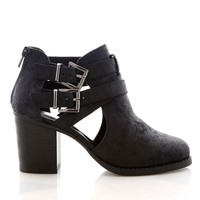 Coven Cut Out Booties