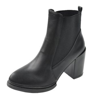 Women's Black Pointed Toe Boots