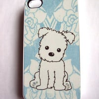 Ahhh Cute Puppy iPhone 4 / 4S Case
