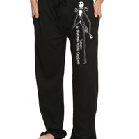The Nightmare Before Christmas Jack Guys Pajama Pants