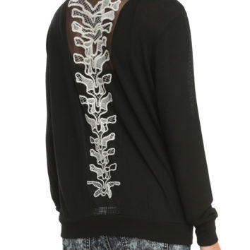 Spine Back Cardigan