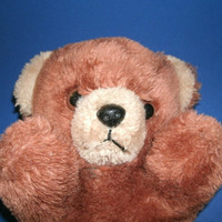 Vintage Teddy Bear Brown Toy Bear