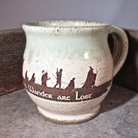 Mug 16 oz - Lord of the Rings  - The Hobbit - by Blaine Atwood - item 1311
