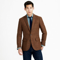 J.Crew Mens Ludlow Sportcoat In Heathered English Wool