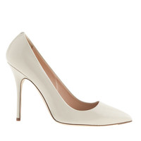 J.Crew Womens Roxie Glossy Leather Pumps