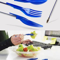Dine-Ink Pen Utensil Set