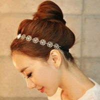 Rose Blossom Hair Band  | LilyFair Jewelry