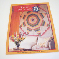 Quilt Pattern Book Star of Bethlehem  three quilt designs full color quilt pattern
