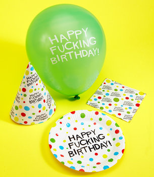 Happy F*cking Birthday Party Set