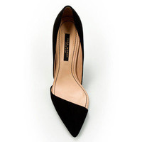 Asymmetric Court Shoe - Zara - Polyvore