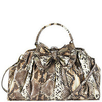 Runway Bow Frame Satchel - Satchels - HANDBAGS - Jessica Simpson Collection