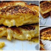 Grilled Cheese Mac and Cheese... why didnt i think of this