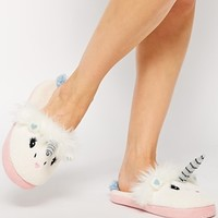 ASOS NARNIA Unicorn Slippers