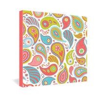DENY Designs Home Accessories | Heather Dutton Power Paisley Gallery Wrapped Canvas