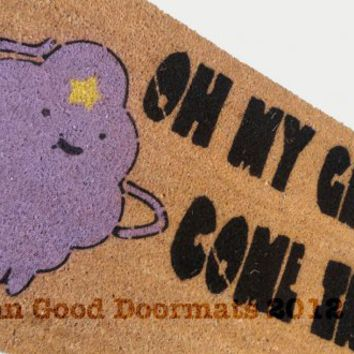 LSP Adventure time- Oh my Glob! Lumpy Space Princess doormat | Damn Good Doormats